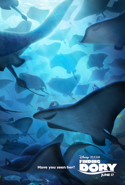 Finding Dory have you seen her stingray movie poster