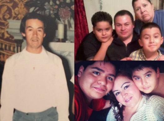 Noe Martinez and family