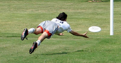 Adam Ginsburg Pictures from an Ultimate Tournament in Dallas 2005 photo/ Keflavich via wikimedia commons