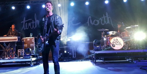 Tenth Avenue North on stage at the Florida State Fair, 2016 photo/ Brandon Jones
