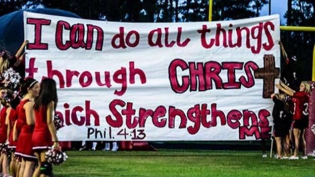 The Texas cheerleaders win!