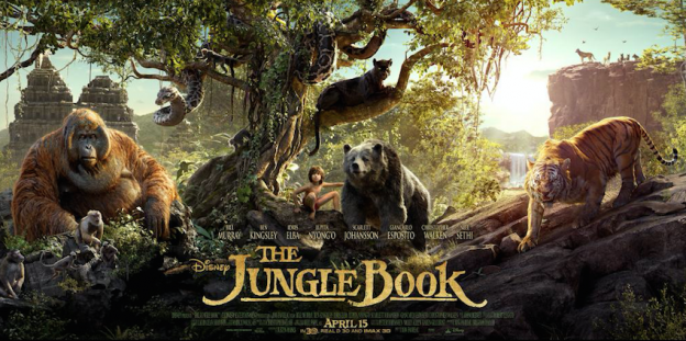 The Jungle Book character banner