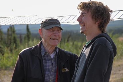 ohn Schnabel with his grandson Parker, star of Discovery's Gold Rush (courtesy of Discovery)
