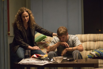 """Amy Brenneman and Chris Zylka in """"The Leftovers"""""""