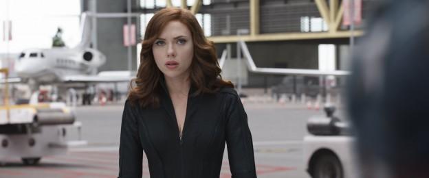 Captain America Civil War Black Widow Scarlett Johansson photo