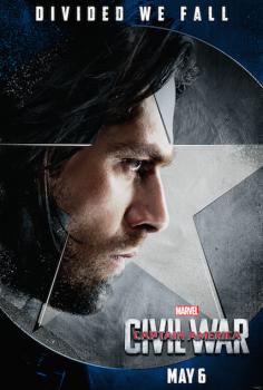 Captain America Civil War Sebastian Stan Winter Soldier movie poster