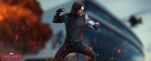 Captain America Civil War Winter Soldier Sebastian Stan banner