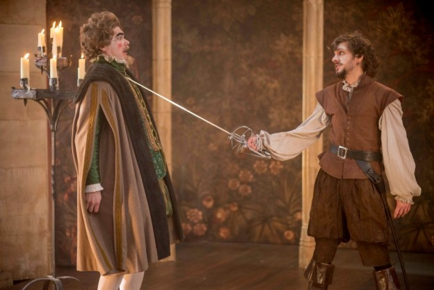 The Earl of Croydon (Simon Farnaby) & Bill (Matthew Baynton) (Credit: Nick Wall)