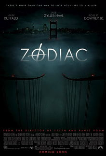 Zodiac movie poster 2007 film