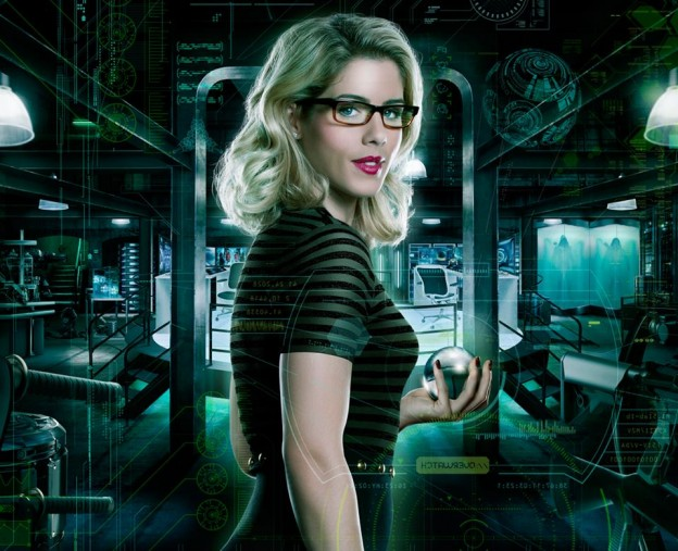 arrow emily bett Rickards overwatch-promo poster
