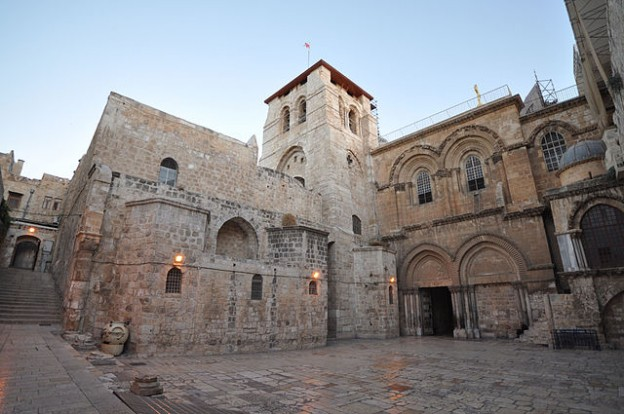 The Church of the Holy Sepulchre photo Flickr jlascar
