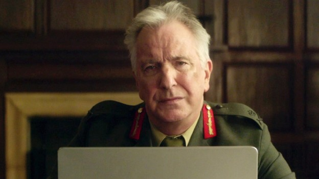 Alan Rickman British general Eye in the Sky photo