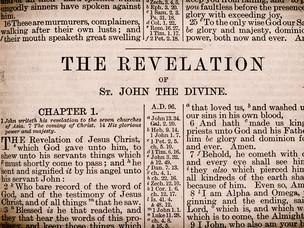 Book of Revelation photo/ National Geographic