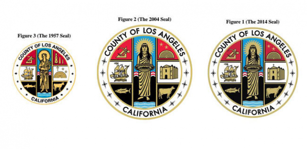 County of Los Angeles seals cross to be removed