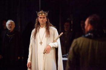 David Tennant as Richard II photo Kwame Lestrade courtesy of Fathom Events