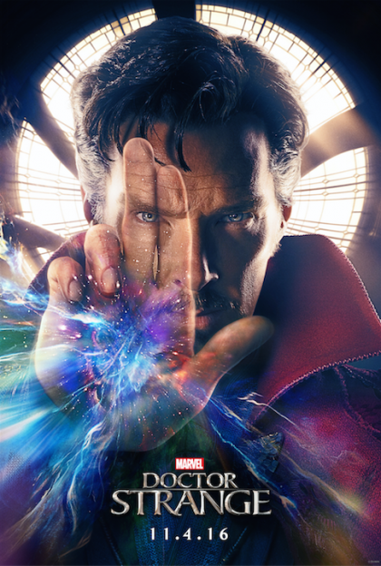 Doctor Strange Benedict Cumberbatch movie poster