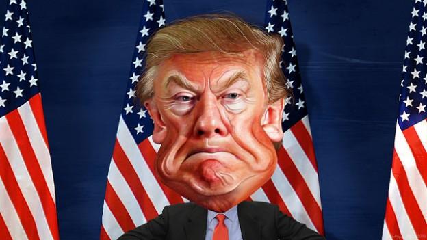 Donald trump flags donkeyhotey