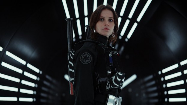 Felicity Jones in Star Wars Rogue One