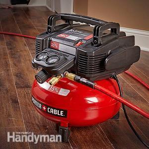 Handyman portable air compressor photo