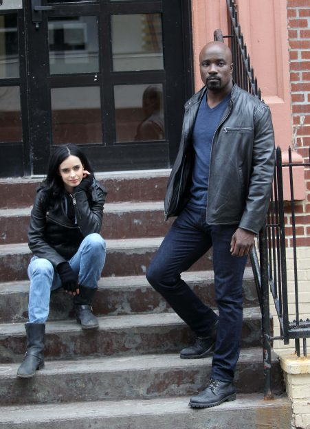 Krysten Ritter Mike Colter JEssica JOnes Luke Cage photo