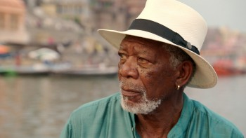The story of God morgan freeman photo