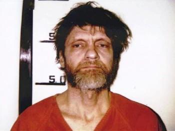 FBI booking photo of Ted Kaczynski, aka The Unabomber