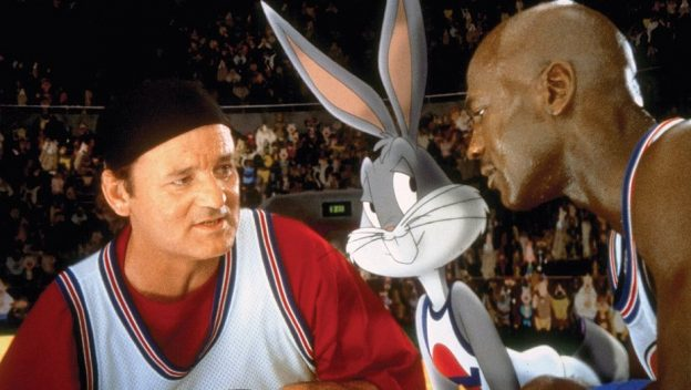 Bill Murray Bugs Bunny Michael JOrdan Space Jam photo