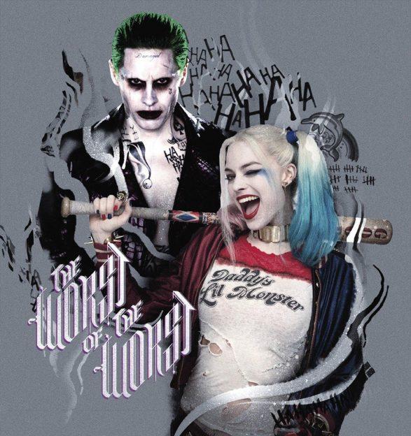 Jared Leto Joker Margot Robbie Harley Quinn Suicide Squad
