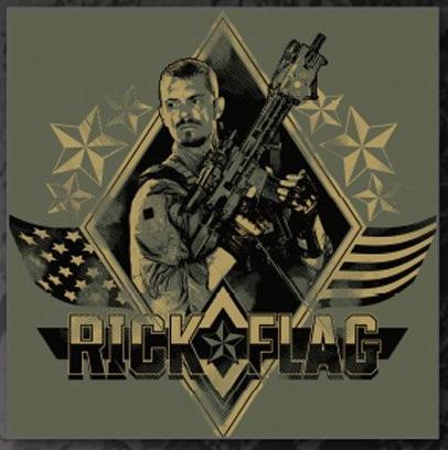 Rick Flag Suicide Squad Joel KInnaman Suicide Squad photo