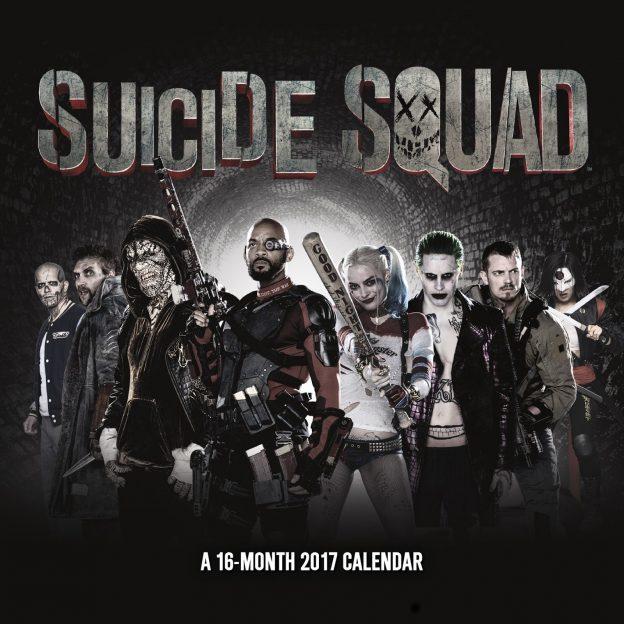 Suicide Squad calendar cover