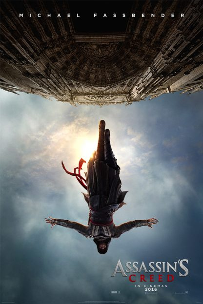 assassins-creed-official-poster.Michael Fassbender upside down
