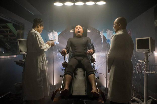 gotham-season 2 photo Brian McManamon BD wong as Clayface Hugo Strange