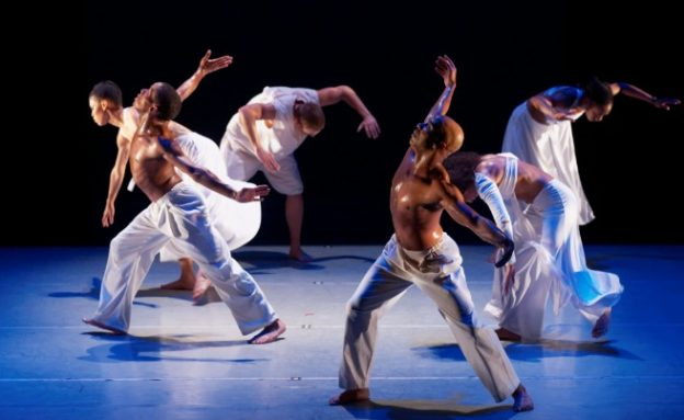 "Alvin Ailey American Dance Theater, ""Grace"" (Credit Paul Kolnik, courtesy of Fathom Events)"