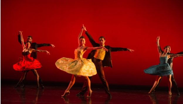 "Ballet Hispanico, ""Club Havana"" (Credit Paula Lobo courtesy of Fathom Events)"