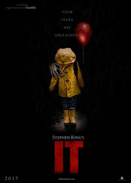 It remake movie poster 2017