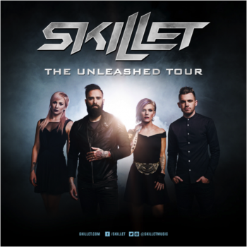 Skillet the unleashed tour photo