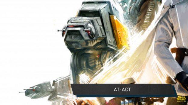 Star Wars Rogue One poster close up AT-ACT