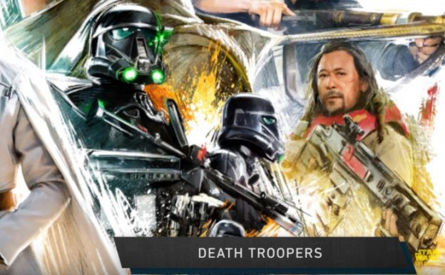 Star Wars Rogue One poster close up Death Troopers