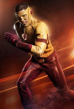 Kid Flash Wally West The Flash season 3 poster