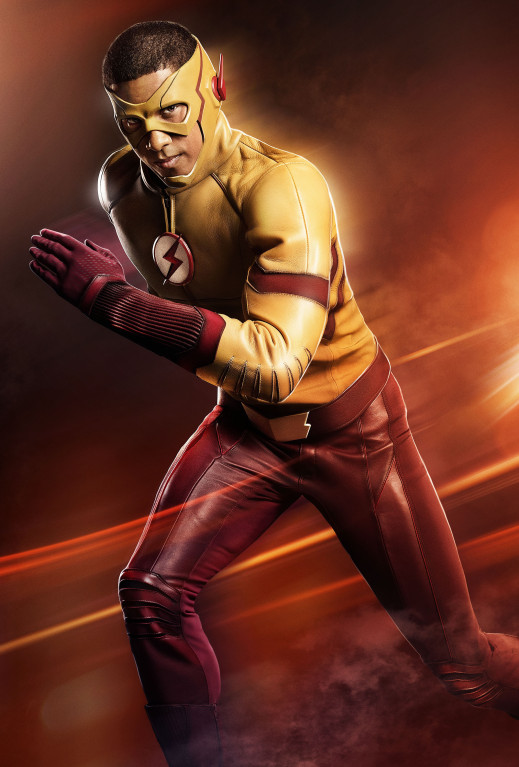 Kid Flash Wally West The Flash season 3 poster