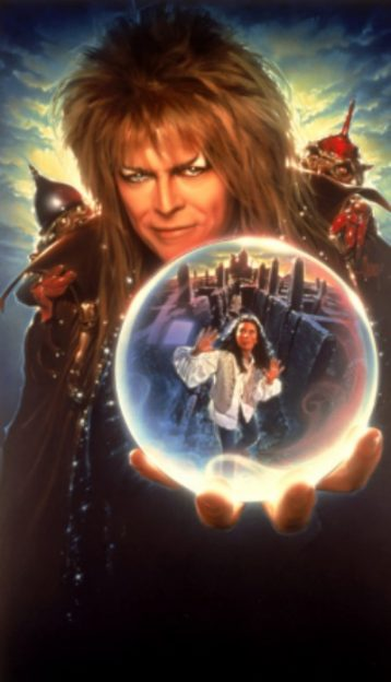 Labyrinth David Bowie promo photo