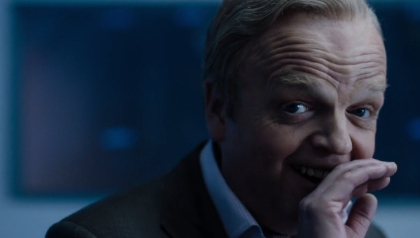 Toby jones as Culverton Smith Sherlock season 4 laughing