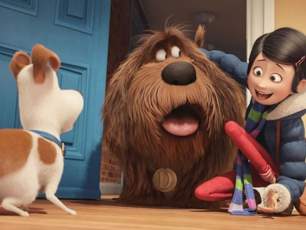 """The Secret Life of Pets"": Max meeting Duke"