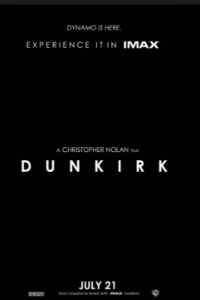 Dunkirk movie poster Christopher nolan