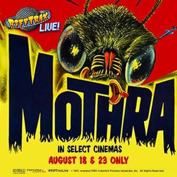 Rifftrax Mothra banner ad