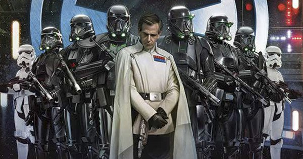 Star Wars Rogue One Ben Mendelsohn Death Troopers banner