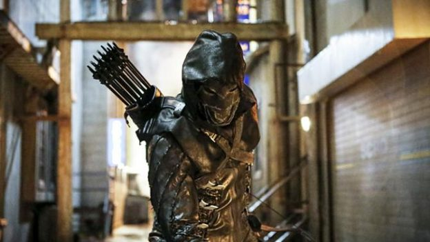 "Prometheus is introduced during season 5 of ""Arrow"""