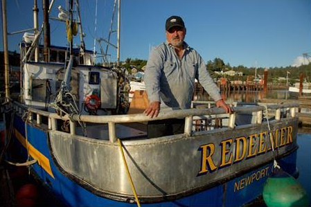 Garry Ripka of the FV Redeemer, photo courtesy of Discovery Channel