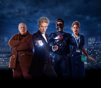 Matt Lucas, Peter Capaldi, Justin Chatwin and Charity Wakefield.