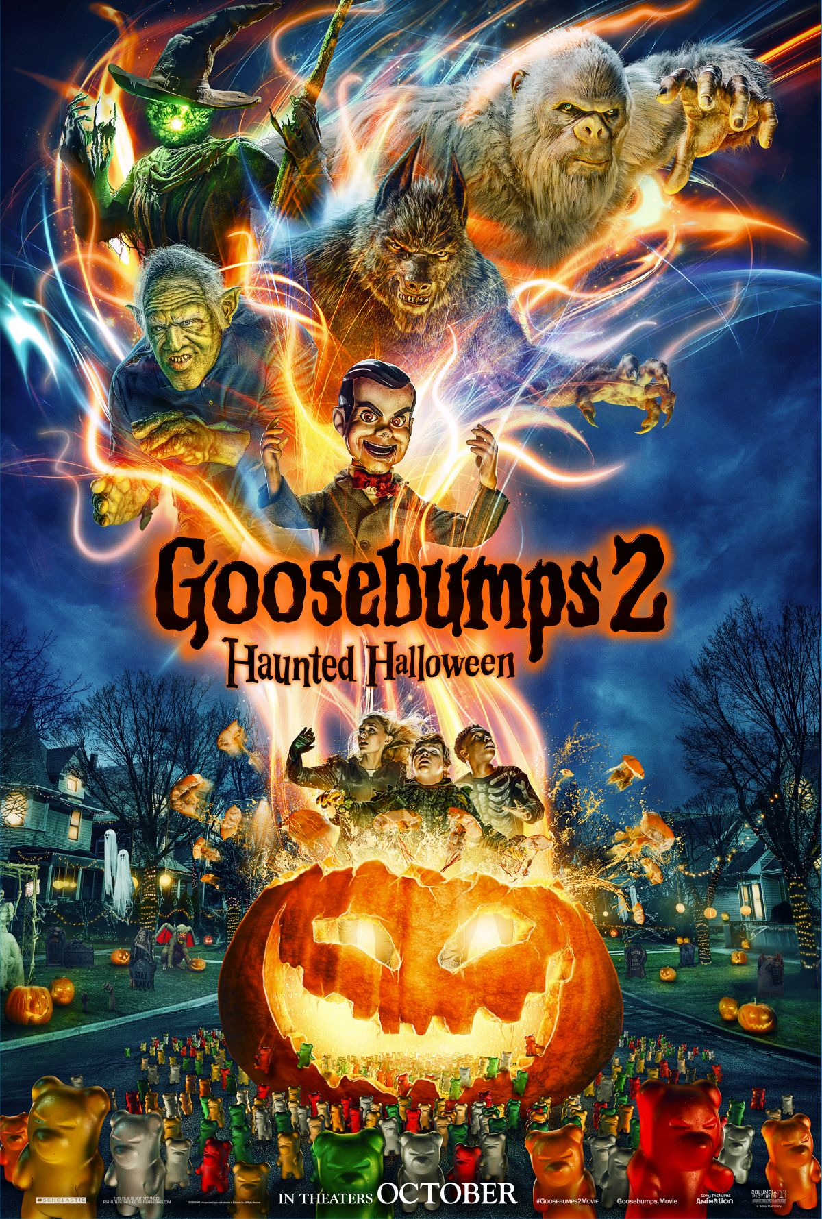 First Trailer For Goosebumps 2 Happy Halloween Reveals